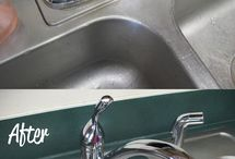 Cleaning tips / by Erica Robb
