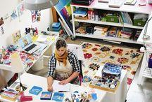 Craft room dreaming / by Dana Crocker