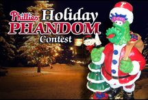 Phillies #HolidayPhandom Contest / Show us your Spirit - Phillies #HolidayPhandom Spirit! You could win a Phanatic Holiday Figurine and $25 Phillies Gift Card!! Here's how to enter: http://atmlb.com/1bxDfZQ ..now get pinning! / by Philadelphia Phillies