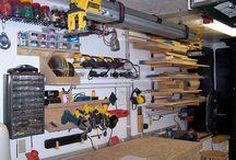 Garage organization / by Marybeth Drope