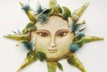 sun faces / by Tina Stille