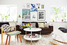 new living room / by Kelly Wolf