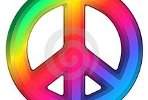 PEACE LOVE & HIPPIE~NESS / by Julie Migliorato