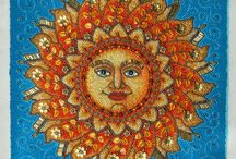 Moon and Sun art / by Diana Rehfield