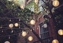 urban oasis | city backyard / by Brooklyn Limestone