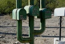 Creative mailboxes / by Becky Kaluahine