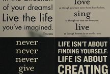Quotes / by Lisa Vetter
