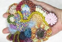 crochet and knitting / by Rachel Gallant