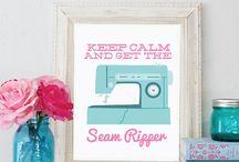 craft room inspiration / by Diana Nolan