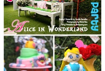 Audrey's Mad Hatter/Alice In Wonderland Tea Party!! / by Raven Jade Oates