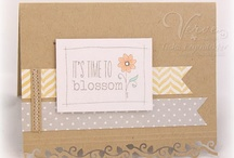 Cards/Scrapbooking / by Cortney Alvord Stampin' Up Demonstrator