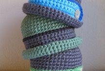 crochet baby hats / by Joy Allen