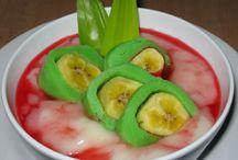 Banana green ice / Celebes food fr indonesia / by Nia Indarsih