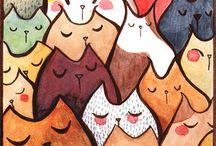 I <3 Cats  / by Mayra Aviña