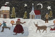Rug hooking / by Maud Rolland