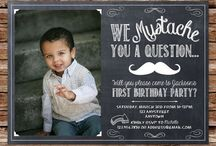 Little mans 1st bday / by Lea Kreutzer