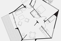 small house floor plans / by Kristen @ Inspired Whims