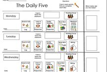 the daily 5 / by Melissa Phipps