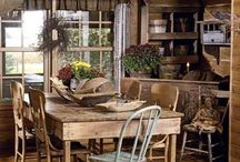 dining rooms/kitchens / by Crabapple Cottage