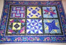 Quilts of all sizes...for beds or a throw for the couch :-) / by Tiffiny Quilts ~ www.freepatchworkquiltinfo.com
