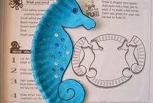 Classroom Clues/Ocean and Sea Life / Crafts, activities, and lessons about oceans and sea life! / by Heather Hollifield