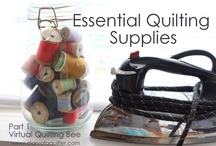 Virtual Quilting Bee - tutorials / by Amy Smart