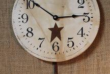 Primitive Clocks / by Allyson's Place