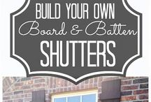Exterior Shutters! / by Pam Griggs