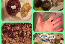 What's In Your Fridge  / Can you cook a healthy tasty dish from just what's in your fridge!?  / by Courtney Dimiceli