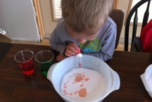 Crafts & experiments for the kiddos / by Jessica Brooks-Fulton