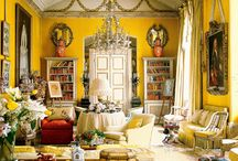 Color: Yellow Rooms I Love / by Lindajane Keefer