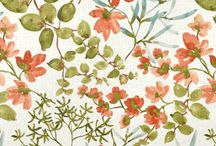 Patterns / Fabrics, wallpapers, etc. / by Sarah Barrett