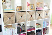 Bookshelf Styling / by Ryann Detamore