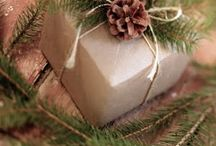 Christmas Wrapping Ideas / by Connie Caron