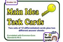 Task Cards / by Rachel Lynette