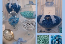 Beautiful Boy Christening. Styled by Moyarta. / These are some photos of a recent lolly buffet Moyarta styled for a little boy's christening. / by Moyarta. Elegant Entertaining.