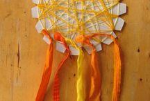 Sunshine (room) craft / Preschool craft / by Anja De Laat