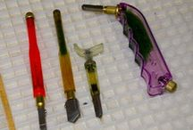 STAINED GLASS TIPS, HINTS & SUPPLIES...good advice and lessons. / by Barbara  J Camp