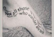 Tattoo Ideas / by Katelyn Lee