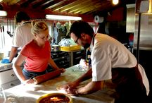 Cooking Classes in Tuscany Villa / One of the activities of the villa are the cooking classes with our chef Carlo Porcu. One afternoon in the kitchen to learn the recipes of typical tuscan dishes... / by Villa la Lodola B&B e Relais in Tuscany