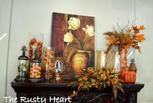 Thanksgiving/Fall - Mantels / by Therese Scribner
