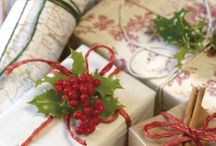 Wrapped with Love... / beautiful wrapped packages  / by Dorothy Spencer