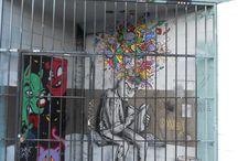 Street Art & More..  / Street art, body art, all art!  / by Zene Coley