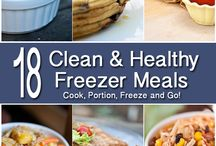 Cookbook: Cook Ahead & Freezer Meals with a Healthy Twist / Join us as well explore recipes, ideas and tips of how to cook ahead while eating healthfully.Please email elise@elisecohenho.com if you would like to be a pinner on this board. Please note that all recipes pinned by the original source will be considered for publication and nutrition review  on my website (www.elisecohenho.com) or for any publication in which I am published. / by Elise Cohen Ho, PhD, HHP, NC