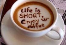 Coffee Foam Delights / Artistic coffee foam / by Creative Coquette