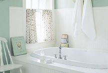 bathrooms / by Cara from Gardenview Cottage