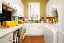 laundry & mud room / by Pam Tucker