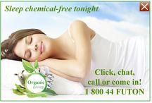 Sleep / Organic ways to sleep / by The Futon Shop Organic Futons & Mattresses