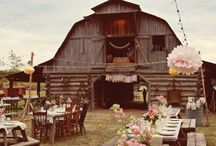 Country Chic/Rustic Barn Weddings / A barn wedding mixes rustic charm with nature-inspired elements to uniquely present the lucky couple's personality in a laid-back, romantic way. Set in the woods, a barn, or even your backyard, a rustic barn wedding can be dressed up or down to match your desired style. Decor pieces such as cowboy boots, mason jars, & burlap with lace are sure to be found throughout a rustic barn wedding. Check out our August's Wedding Theme of the Month for some of our favorite rustic barn wedding decor ideas! / by Iron Accents