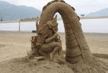 sand castles / by Brenda Graves